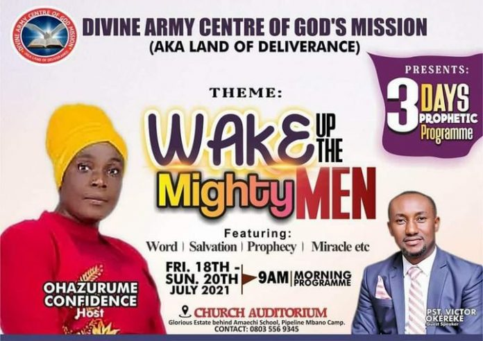 WAKE UP THE MIGHTY MEN